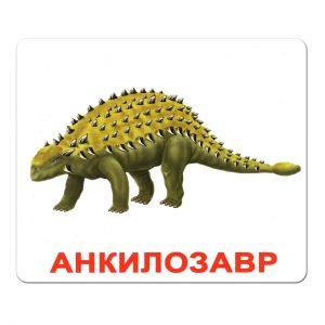 Картки Домана Динозаври