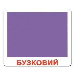 Картки Домана Форма та колір