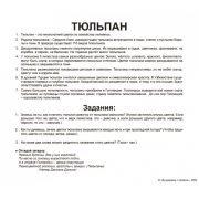 "Карточки Домана ""Цветы"" на рус."