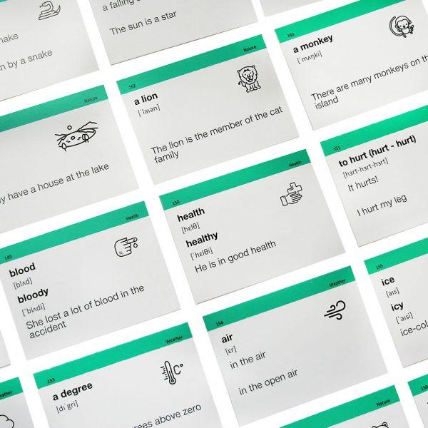 Карточки уровня А2