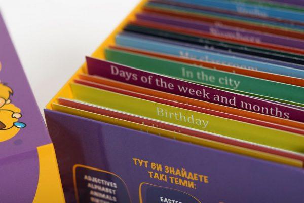 Карточки для изучения английского языка для детей, Майстерня знань
