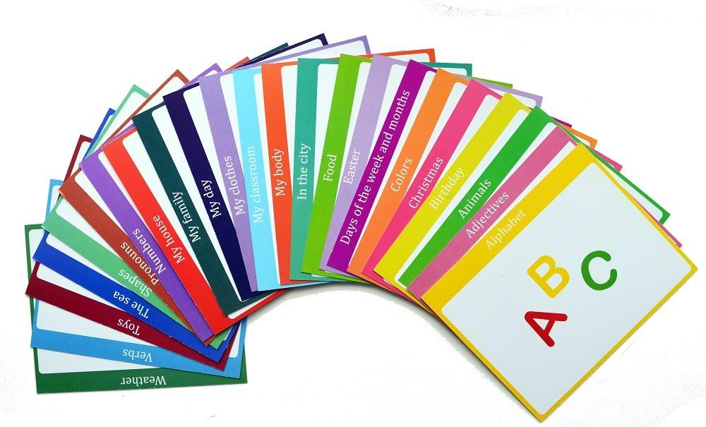 тематичн картки з англйсько мови скачати безкоштовно