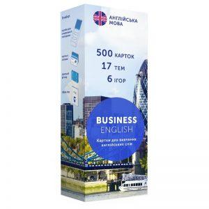 Карточки для изучения английского языка, Business, English Student