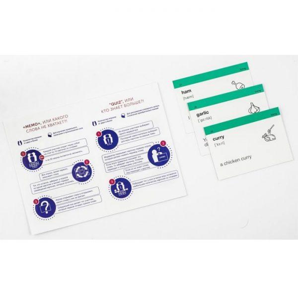 Карточки для изучения английского языка, уровень Pre-Intermediate A2 (рус/англ), English Student