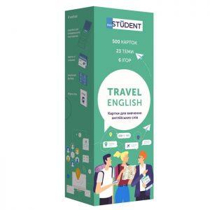 Карточки для изучения английского языка Travel, English Student